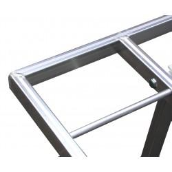 tavolo mercato price50 alluminio bancarella da mercato