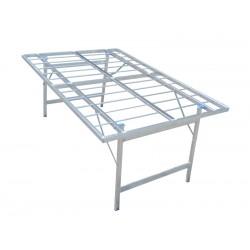 table aluminium price60 h80cm sans plan étal de marché