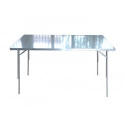 Tavolo PARTY con piano alluminio 200cm