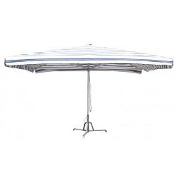 ombrellone in alluminio estensive 3x4m da mercato frontale