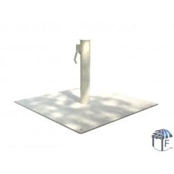 piedistallo per ombrellone da giardino bianco